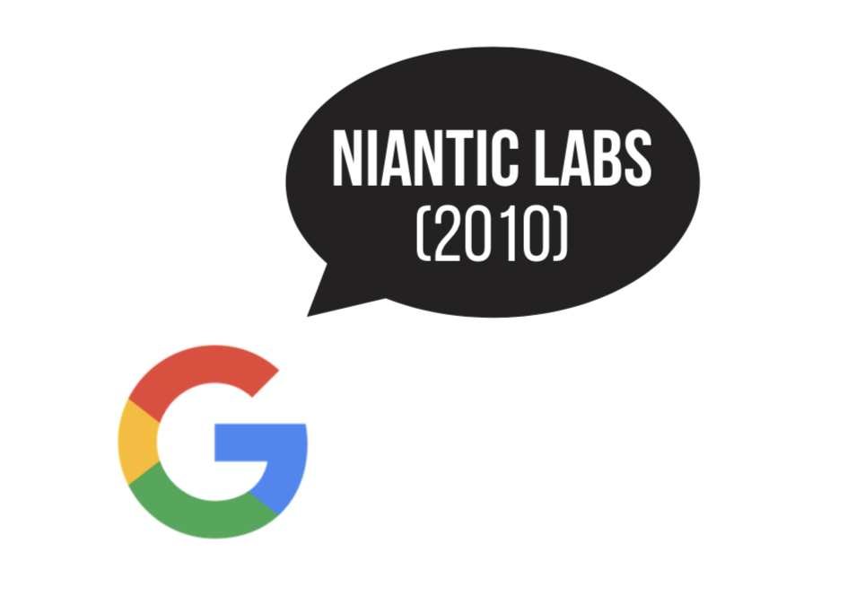 Open Innovation: Google and Niantic Labs